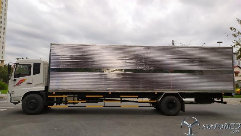 Xe tải dongfeng 8 tấn thùng dài 9.5 mét nhập khẩu