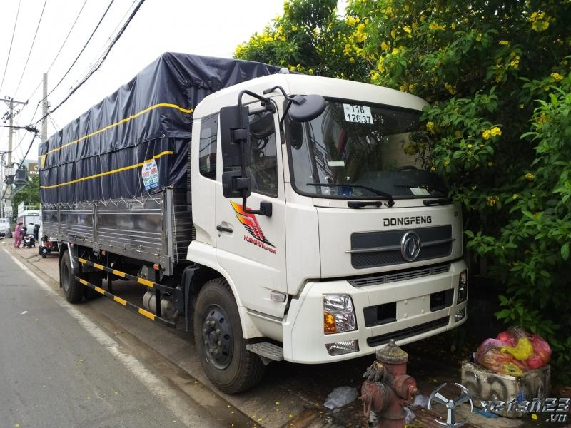 Xe tải dongfeng 8 tấn thùng dài 9m5 nhập khẩu