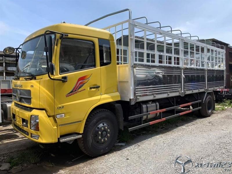 Xe tải dongfeng 8 tấn thùng dài động cơ cummin nhập khẩu