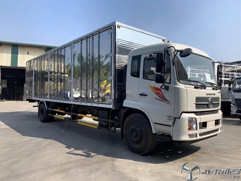 Xe tải dongfeng 9 tấn b180 thùng dài nhập khẩu