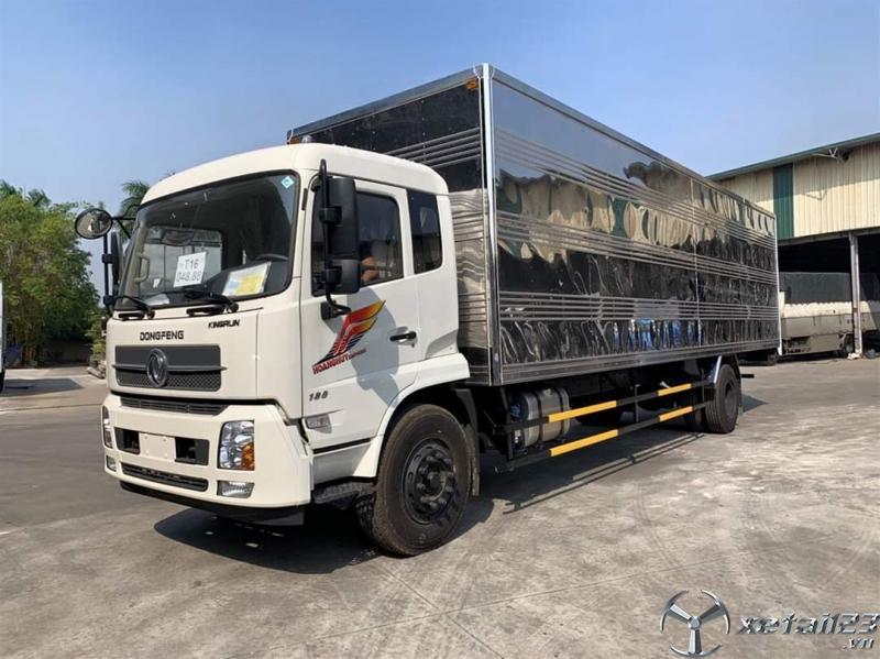 Xe tải dongfeng 9 tấn nhập khẩu thùng dài 9.5 mét