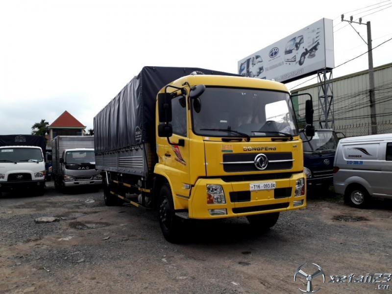 Xe tải dongfeng b180 9 tấn động cơ cummin nhập khẩu trả góp 80%