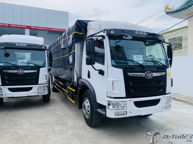 Xe tải faw 8 tấn thùng bạt dài 8 mét