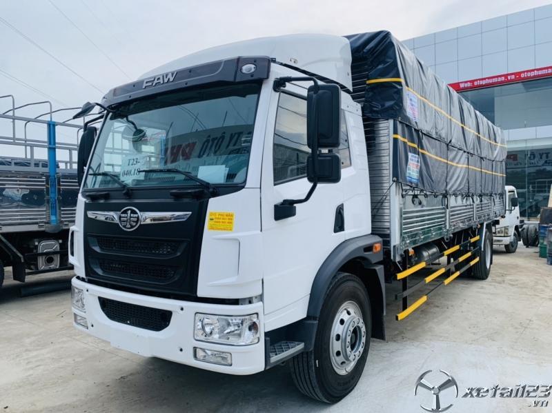 Xe tải faw 8 tấn thùng dài 8 mét