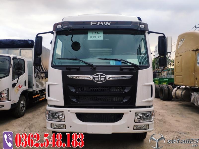Xe tải faw 9 tấn thùng bạt 8.3 mét chở hàng nhẹ Hỗ trợ trả góp 80%
