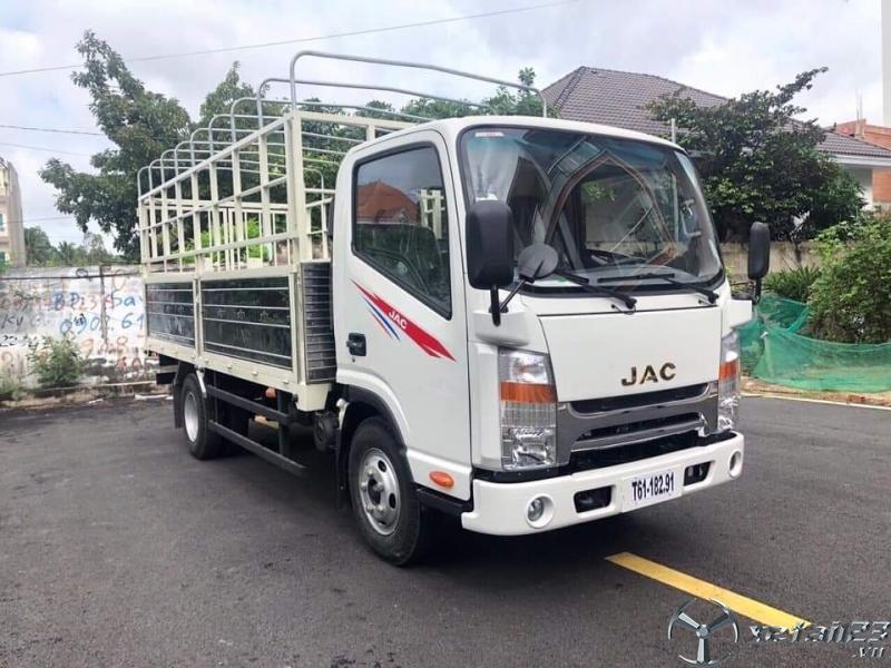 Xe tải jac 1.9 tấn động cơ isuzu nhật bản đời 2020