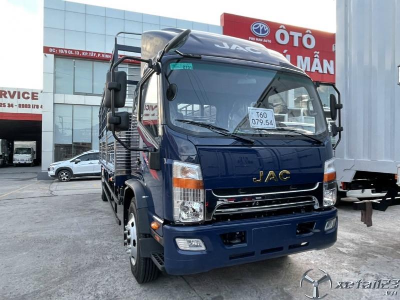 Xe tải jac 9 tấn thùng dài 7m6, động cơ cumins nhập khẩu