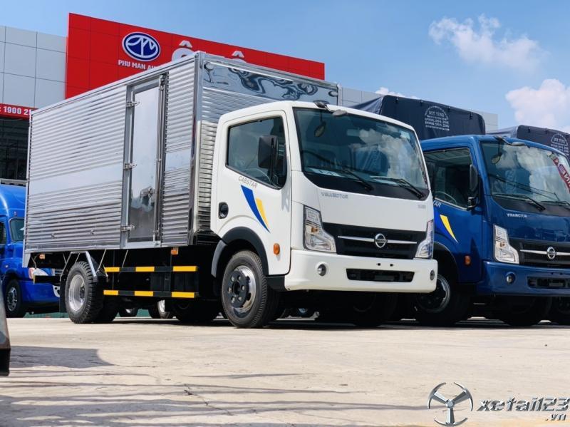 Xe tải nissan 3.5 tấn thùng mui bạt, động cơ nissan nhập khẩu