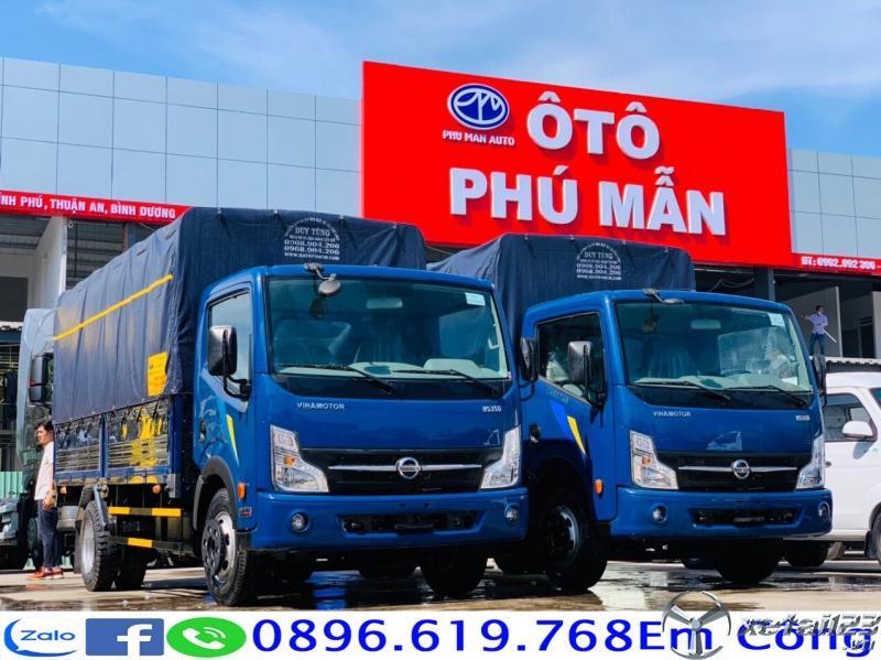Bán xe tải 3t5 thùng dài 4.3m trả góp giao ngay