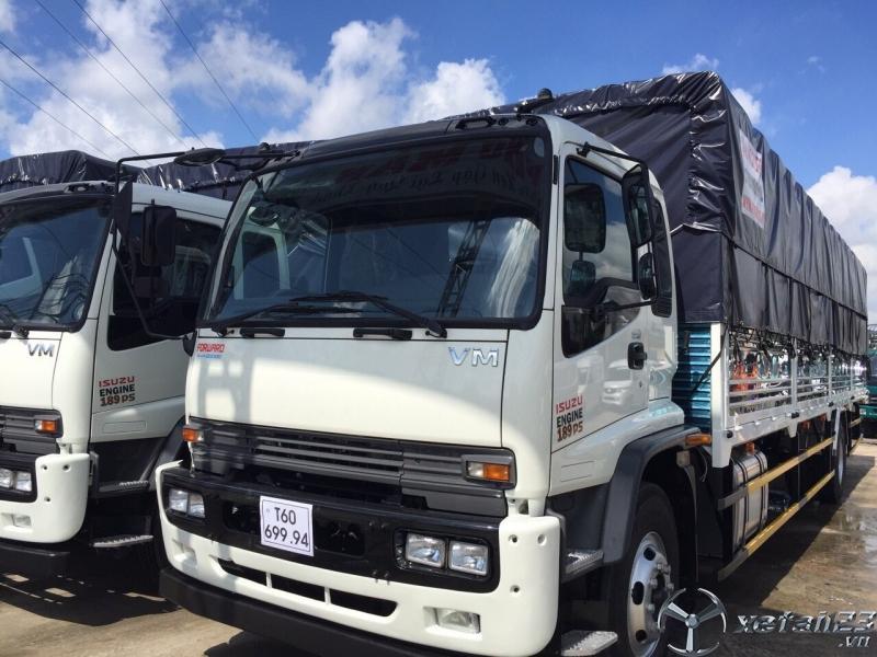 Xe tải isuzu vm 8 tấn trả góp thùng dài 9m9 giao ngay