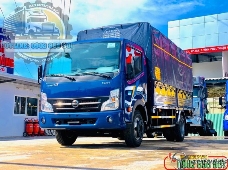 Xe Tải Động Cơ Nissan NS200 và NS350 Của Nhà Máy Vinamotor Đồng Vàng