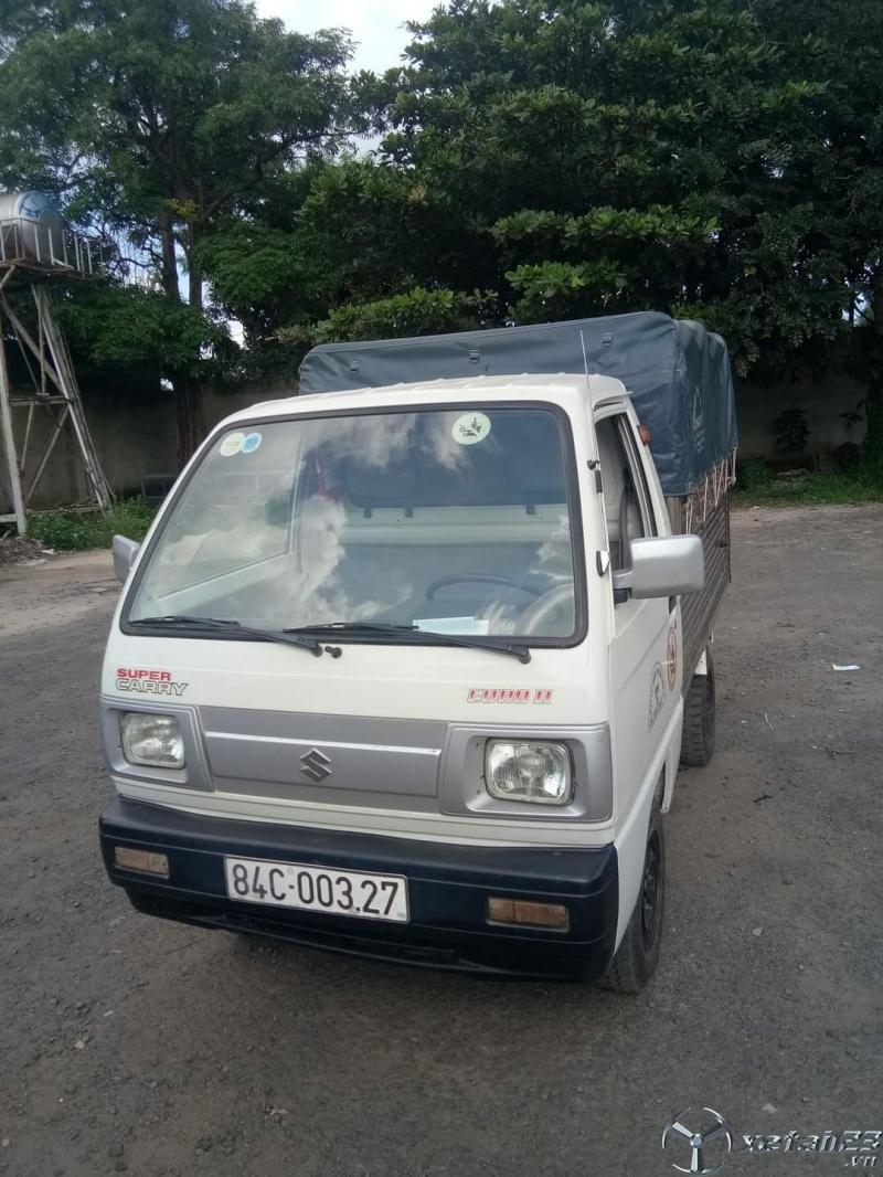 Cần bán xe tải Suzuki đời 2010 thùng mui bạt