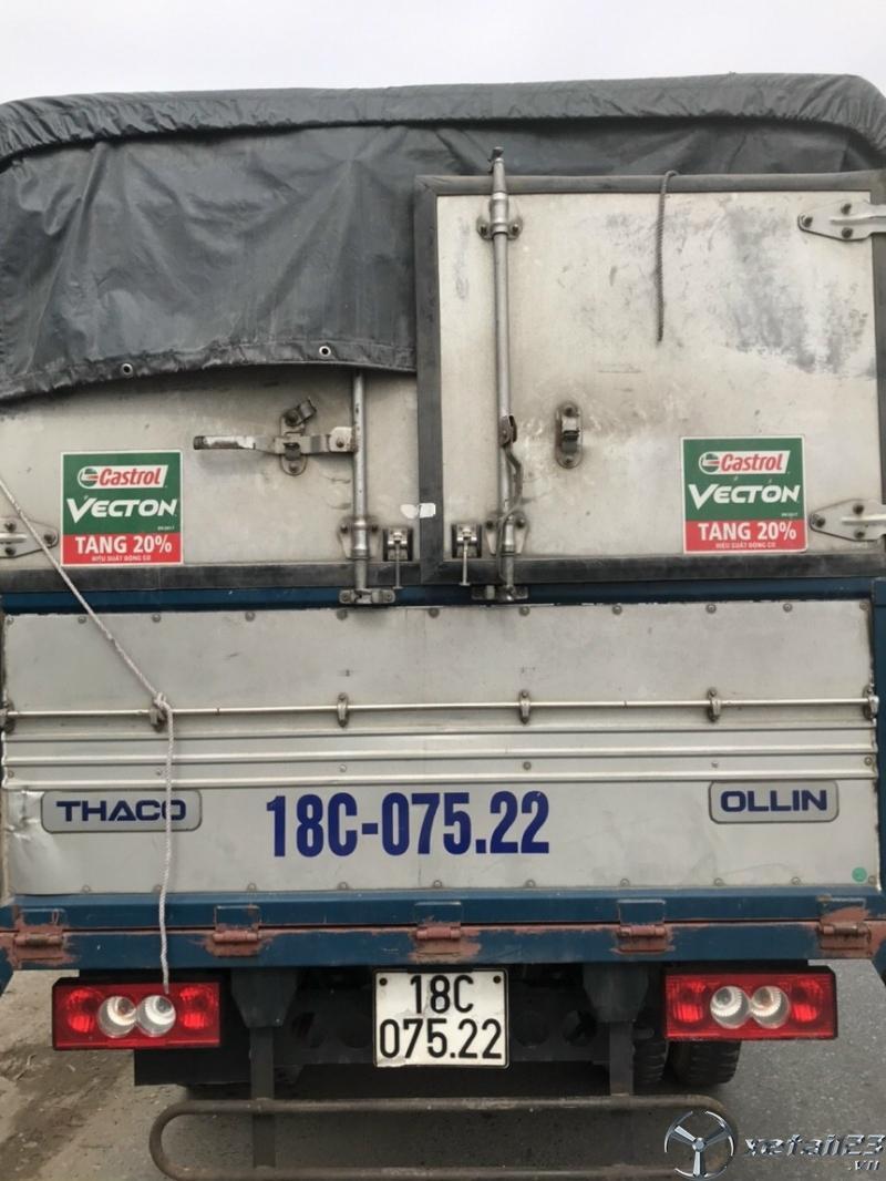 Bán xe Thaco Ollin 500B sản xuất năm 2017 thùng mui bạt