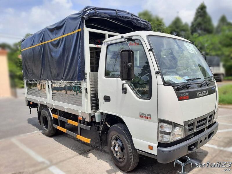 Ô Tô Hoàng Long đại lý xe tải Isuzu chính hãng