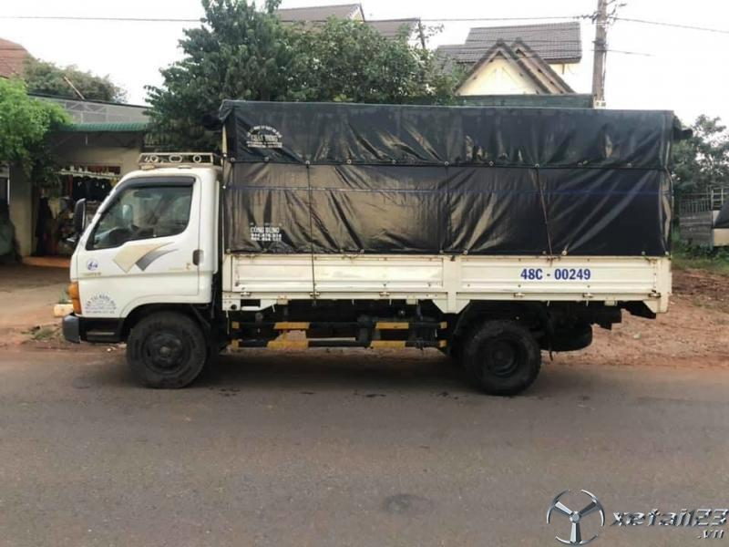 Thanh lý gấp xe Hyundai 2,5 tấn đời 1999 thùng mui bạt