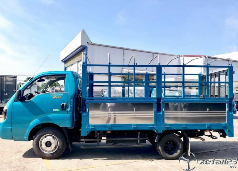 Xe tải KIA K250 đời mới, tải trọng đa dạng, ưu đãi lãi suất