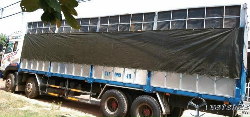 Xe Dongfeng Hoàng Huy đời 2015 thùng mui bạt đã qua sử dụng cần bán với giá 650 triệu