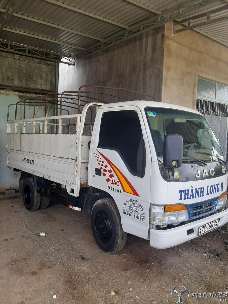 Thanh lý gấp xe JAC sx 2009 thùng mui bạt giá chỉ 68 triệu