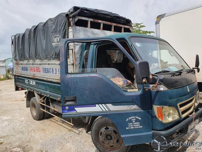 Cần bán xe Foton 1,85 tấn đời 2008 thùng mui bạt