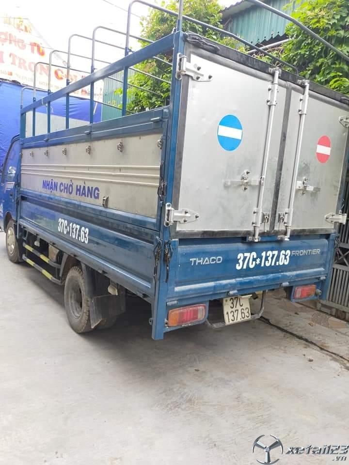 Xe Thaco Frontier 1,25 tấn sx 2014 thùng mui bạt cần bán với giá chỉ 230 triệu
