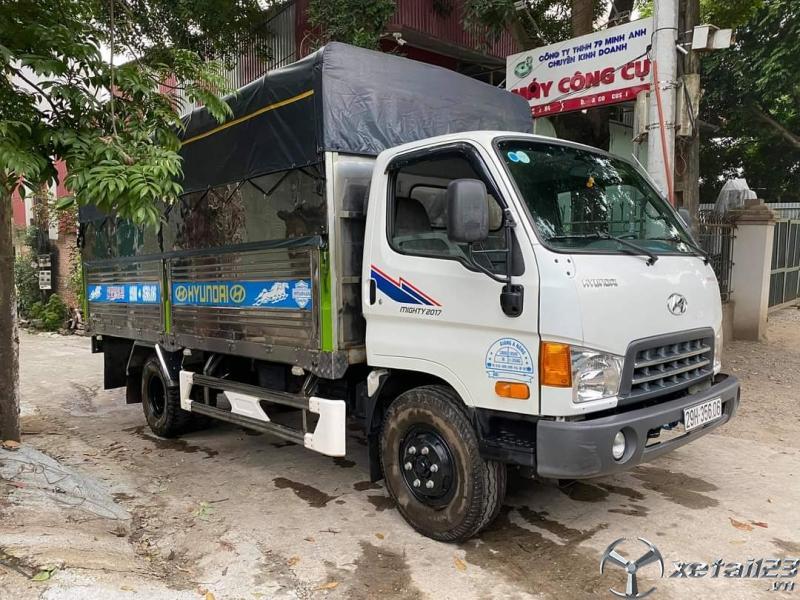 Bán xe Hyundai Mighty đời 2017 thùng mui bạt giá 750 triệu , sẵn xe giao ngay