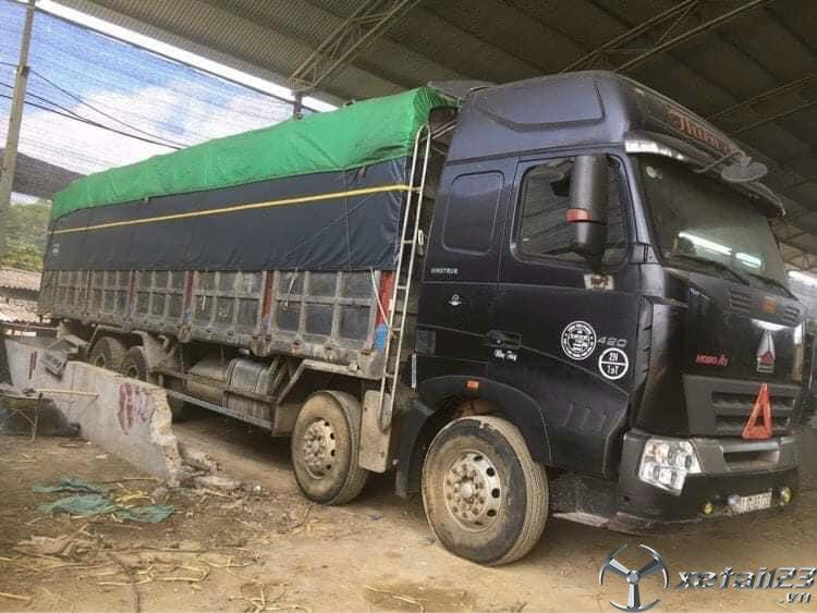 Bán Howo 4 chân đời 2012 thùng mui bạt giá 660 triệu