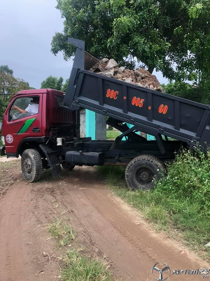 Rao bán xe Trường Giang 2,5 tấn đời 2010 giá 140 triệu