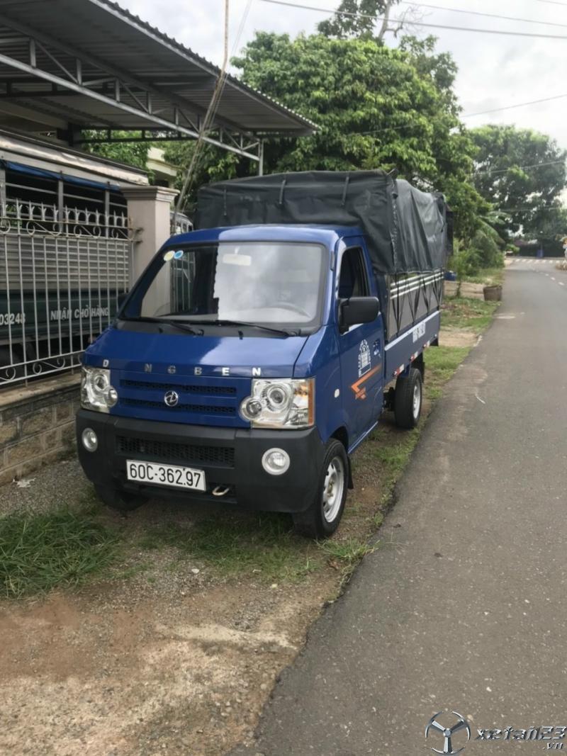 Bán xe Dongben 810 Kg đời 2017 thùng mui bạt