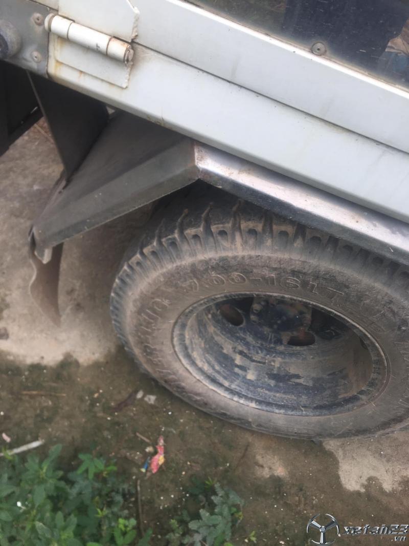 Cần thanh lý gấp xe Hyundai Mighty II  2 tấn đời 2001 thùng kín giá 155 triệu