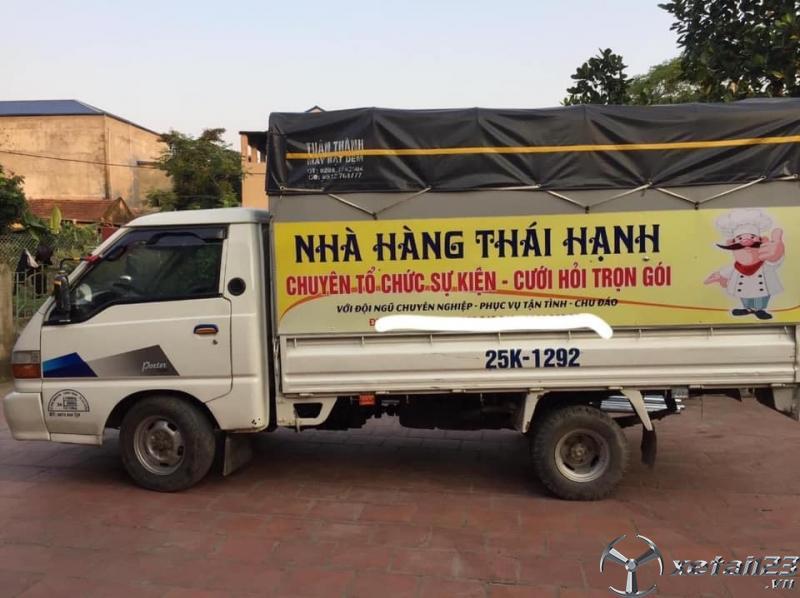 Thanh lý xe Hyundai Porter đời 2000 thùng kín giá 65 triệu