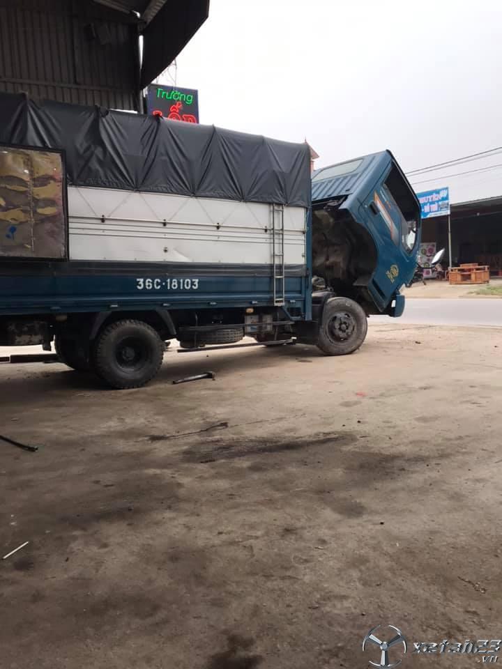 Bán Thaco K165 2,4 tấn sx 2016 thùng mui bạt với giá chỉ 290 triệu