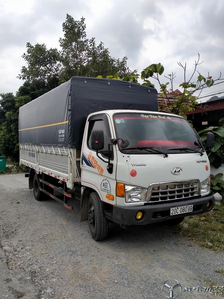 Xe Hyundai HD345 3 tấn  sx 2015 thùng mui bạt đã qua sử dụng cần bán với giá chỉ 450 triệu