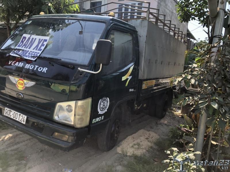 Bán Veam 2 tấn đời 2010 thùng mui bạt giá rẻ nhất