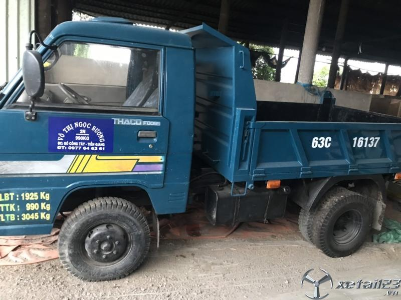 Bán Thaco Foton 990 Kg sản xuất 2012 thùng mui bạt với giá 135 triệu