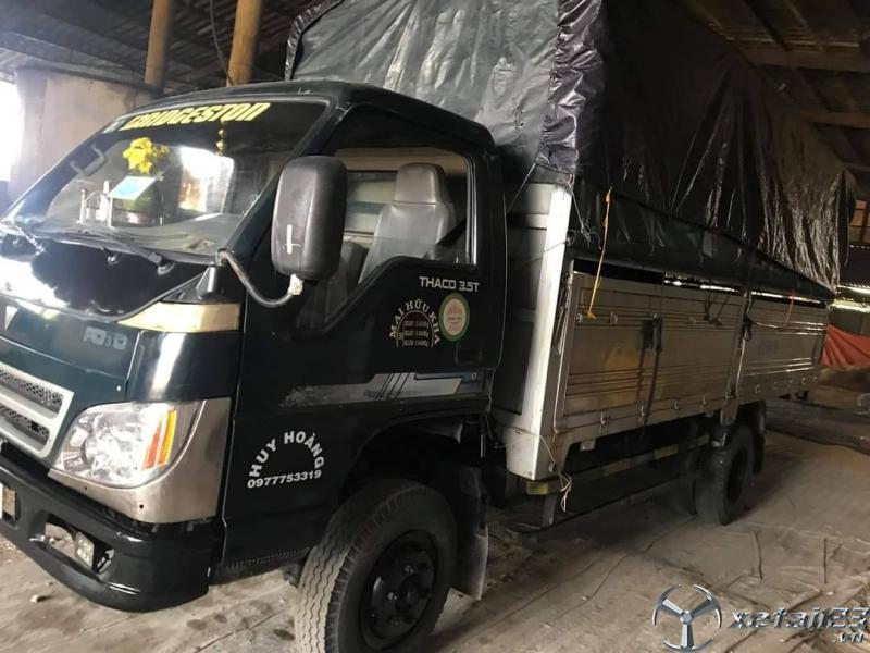 Cần thanh lý xe Thaco FC345 3,2 tấn sản xuất 2008 thùng mui bạt giá 120 triệu