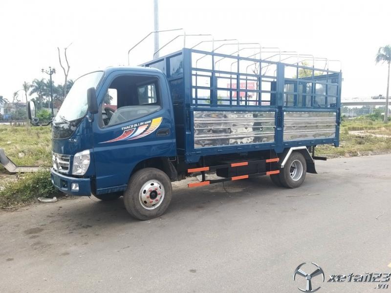 Cần bán xe Thaco Ollin 500B sản xuất năm 2016 thùng mui bạt giá tốt nhất
