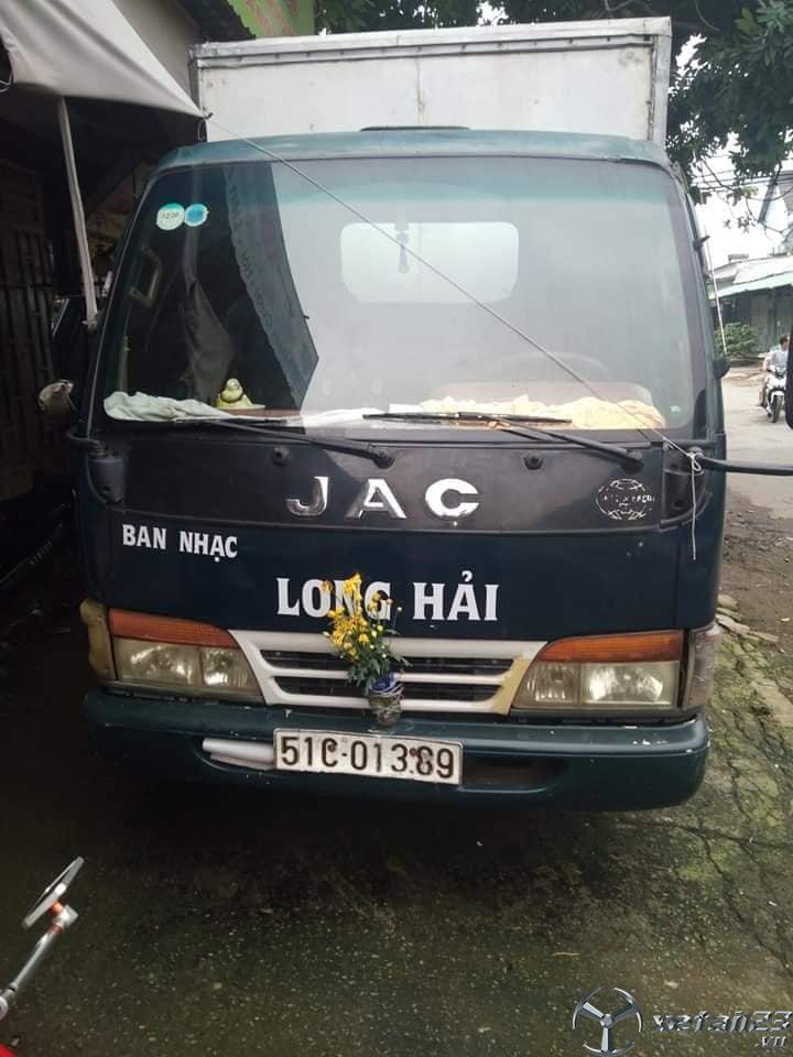 Cần bán gấp xe JAC 1 tấn đời 2007 thùng kín giá chỉ 50 triệu