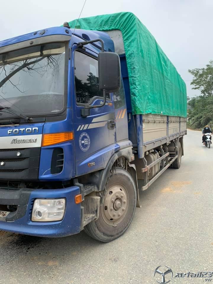 Bán Thaco Auman C160 9,3 tấn đời 2016 thùng mui bạt