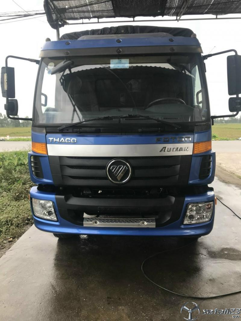 Bán Thaco Auman C160 tải 9 tấn đời 2016 thùng mui bạt