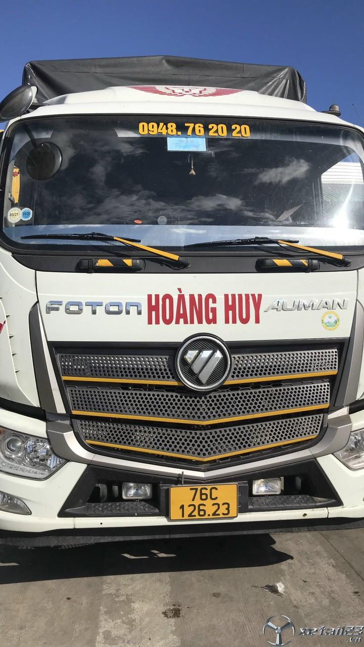 Bán xe Thaco Auman C160 tải 9,1 tấn sản xuất năm 2019 thùng mui bạt