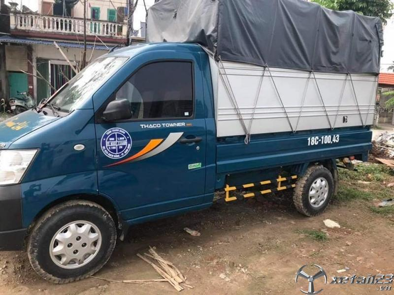 Bán Thaco Towner 990 đời 2019 thùng mui bạt giá 190 triệu , sẵn xe giao ngay