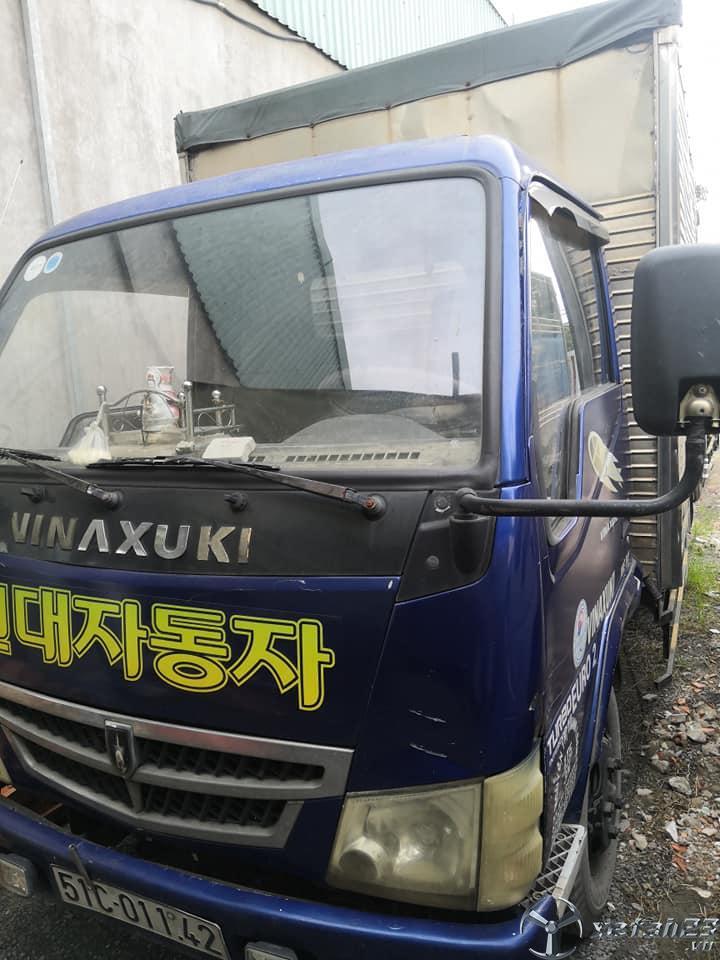 Cần bán xe tải Vinasuki 1,3 tấn đời 2008 thùng kín với giá 62 triệu , còn thương lượng