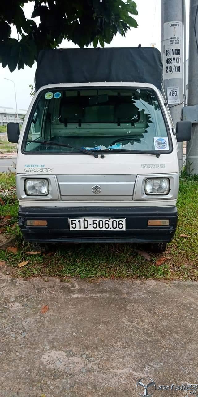 Thanh lý gấp xe tải Suzuki 5 tạ đời 2008 thùng mui bạt giá 105 triệu