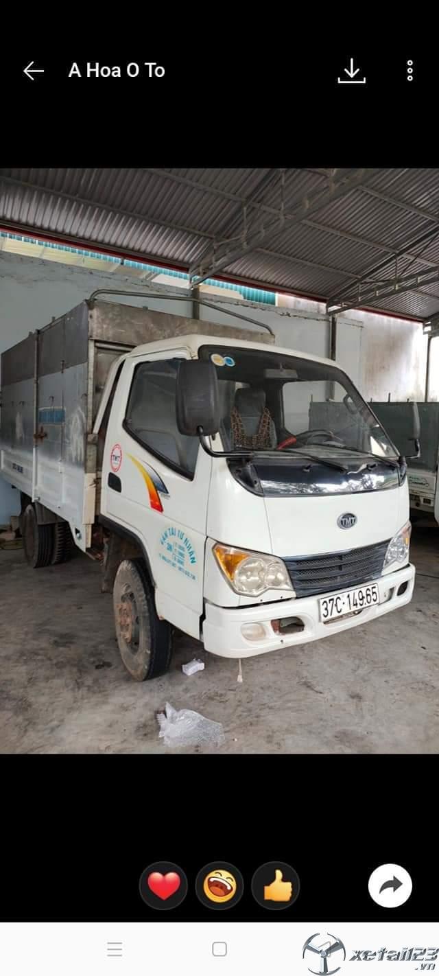 Rao bán xe Cửu Long 1 tấn sx 2010 thùng mui bạt giá chỉ 55 triệu