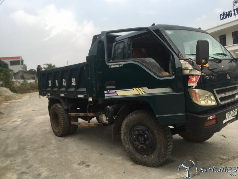 Cần bán xe ben Thaco FLD 4,99 tấn sản xuất 2010