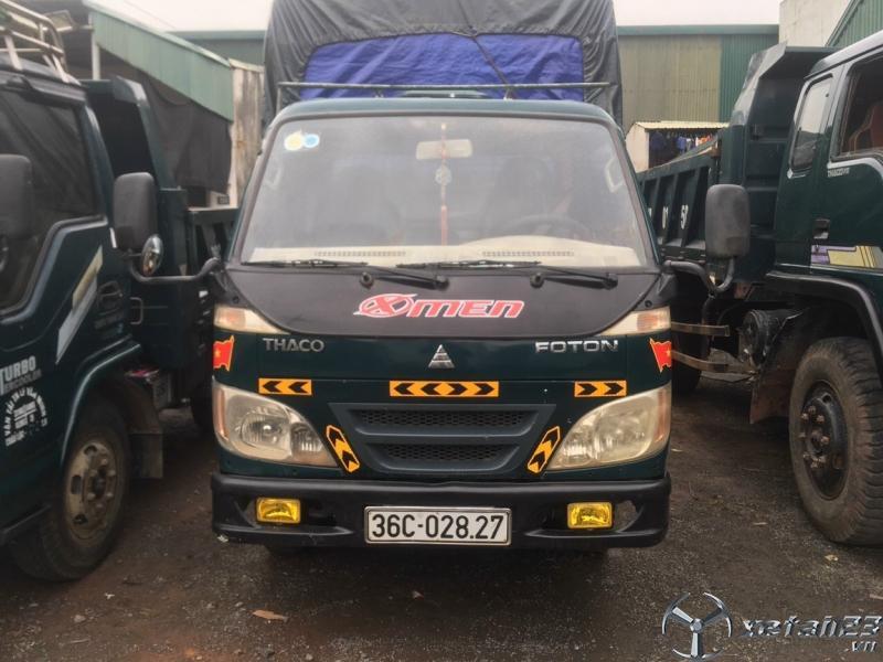 Xe Thaco FC 1,25 tấn đời 2007 thùng mui bạt cần bán giá tốt nhất
