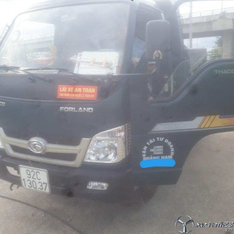 Cần bán xe ben Thaco FLD 2,4 tấn  đời 2017