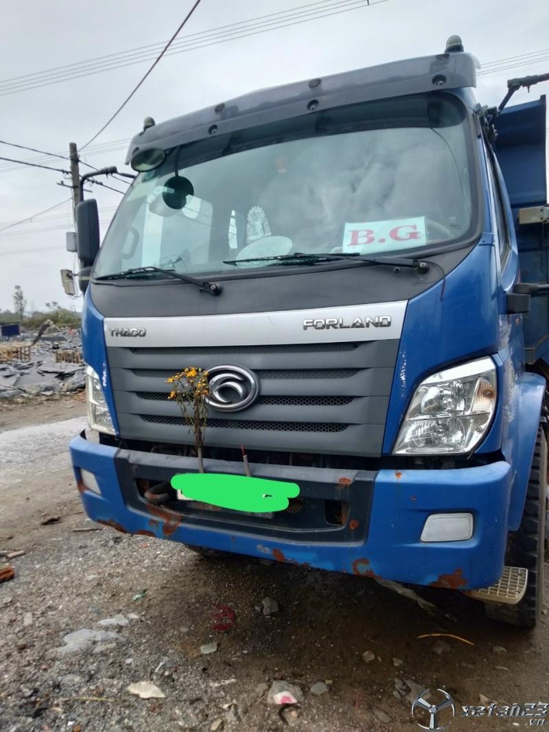 Cần bán xe ben Thaco Forland 9,1 tấn đời 2017