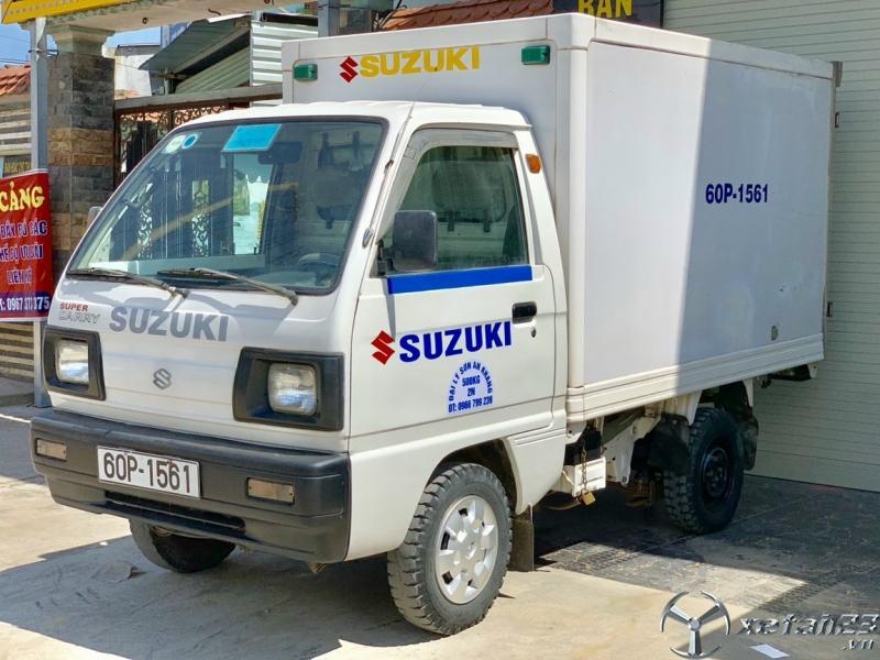 Rao bán xe tải Suzuki thùng kín composit dài 2,3 m đời 2007