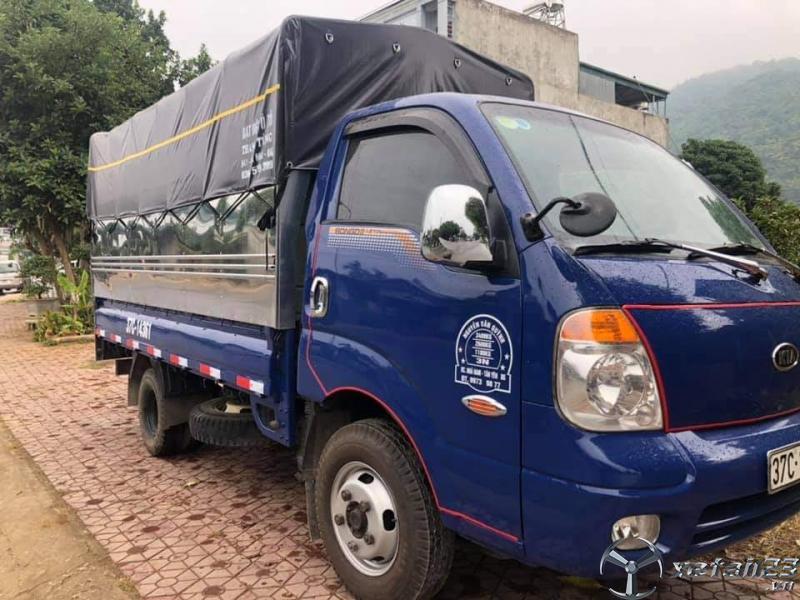 Rao bán xe Kia Bongo III đời 2008 , đăng kí năm 2010 thùng mui bạt giá rẻ